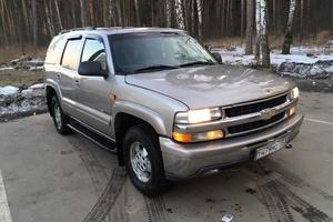 Подержанный автомобиль Chevrolet Tahoe, хорошее состояние, 2003 года выпуска, цена 470 000 руб., Люберцы