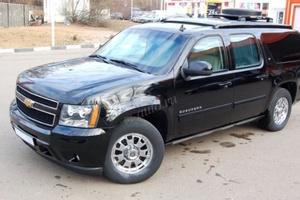 Подержанный автомобиль Chevrolet Suburban, отличное состояние, 2009 года выпуска, цена 6 800 000 руб., Москва