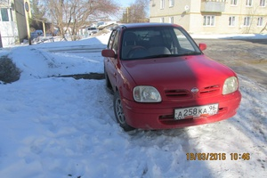 Автомобиль Nissan March, хорошее состояние, 2001 года выпуска, цена 140 000 руб., Каменск-Уральский