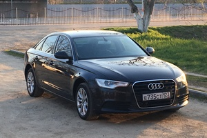 Подержанный автомобиль Audi A6, отличное состояние, 2011 года выпуска, цена 1 000 000 руб., Армавир