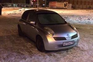 Автомобиль Nissan March, среднее состояние, 2003 года выпуска, цена 150 000 руб., Чебоксары
