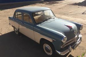 Автомобиль Москвич 402, отличное состояние, 1956 года выпуска, цена 190 000 руб., Москва
