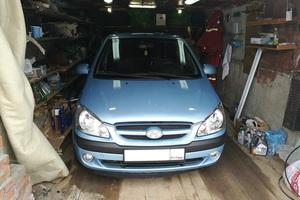 Автомобиль Hyundai Getz, среднее состояние, 2008 года выпуска, цена 320 000 руб., Нижневартовск