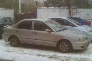 Подержанный автомобиль Kia Sephia, хорошее состояние, 1999 года выпуска, цена 198 000 руб., Одинцово