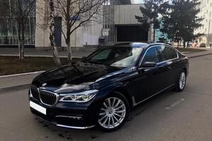 Подержанный автомобиль BMW 7 серия, отличное состояние, 2016 года выпуска, цена 4 499 000 руб., Московская область