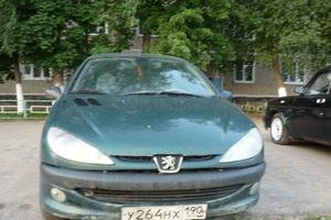 Подержанный автомобиль Peugeot 206, хорошее состояние, 2001 года выпуска, цена 100 000 руб., Сергиев Посад