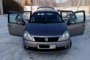 Подержанный автомобиль Renault Symbol, хорошее состояние, 2008 года выпуска, цена 247 000 руб., Челябинск