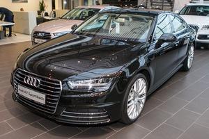 Новый автомобиль Audi A7, 2017 года выпуска, цена 3 550 082 руб., Москва