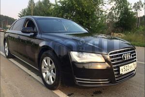 Автомобиль Audi A8, отличное состояние, 2011 года выпуска, цена 1 500 000 руб., Екатеринбург