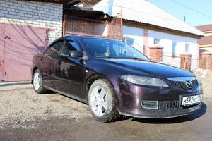 Подержанный автомобиль Mazda 6, хорошее состояние, 2005 года выпуска, цена 327 000 руб., Южноуральск