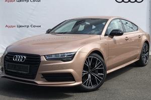 Новый автомобиль Audi A7, 2017 года выпуска, цена 4 725 000 руб., Сочи