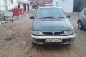 Автомобиль Mitsubishi Chariot, среднее состояние, 1995 года выпуска, цена 110 000 руб., Казань