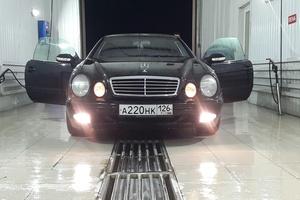 Автомобиль Mercedes-Benz CLK-Класс, отличное состояние, 1998 года выпуска, цена 347 000 руб., Ставропольский край