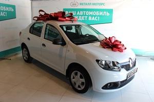 Подержанный автомобиль Renault Logan, отличное состояние, 2017 года выпуска, цена 453 000 руб., Челябинск