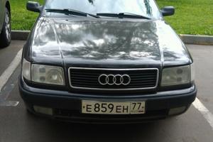 Автомобиль Audi 100, хорошее состояние, 1991 года выпуска, цена 100 000 руб., Москва