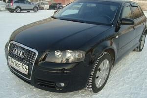 Подержанный автомобиль Audi A3, отличное состояние, 2006 года выпуска, цена 420 000 руб., Красноярск