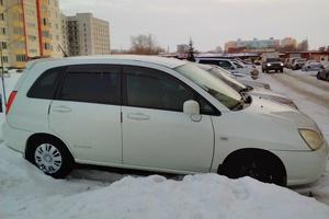 Автомобиль Suzuki Aerio, хорошее состояние, 2002 года выпуска, цена 210 000 руб., Новосибирск