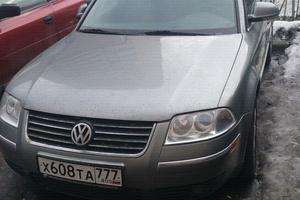 Автомобиль Volkswagen Passat, хорошее состояние, 2004 года выпуска, цена 290 000 руб., Москва