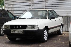 Автомобиль Audi 80, хорошее состояние, 1991 года выпуска, цена 100 000 руб., Лыткарино