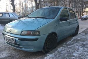 Автомобиль Fiat Punto, хорошее состояние, 2001 года выпуска, цена 129 000 руб., Волгоград