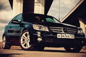 Автомобиль Mercedes-Benz CLC-Класс, отличное состояние, 2008 года выпуска, цена 590 000 руб., Санкт-Петербург