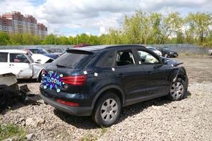 Автомобиль Audi Q3, битый состояние, 2012 года выпуска, цена 490 000 руб., Липецк