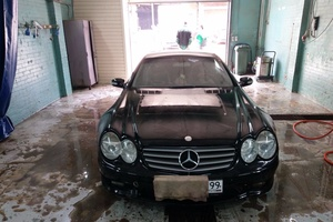 Автомобиль Mercedes-Benz SL-Класс, среднее состояние, 2001 года выпуска, цена 450 000 руб., Москва