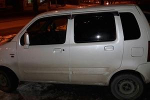 Автомобиль Suzuki Wagon R, хорошее состояние, 2000 года выпуска, цена 165 000 руб., Красноярск