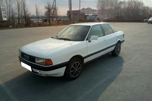 Автомобиль Audi 80, хорошее состояние, 1987 года выпуска, цена 120 000 руб., Липецк