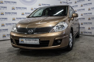 Авто Nissan Tiida, 2009 года выпуска, цена 335 000 руб., Санкт-Петербург