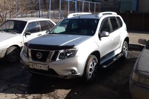 Подержанный автомобиль Nissan Terrano, отличное состояние, 2015 года выпуска, цена 850 000 руб., Челябинск