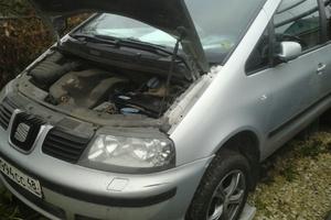 Автомобиль SEAT Alhambra, хорошее состояние, 2001 года выпуска, цена 240 000 руб., Липецк
