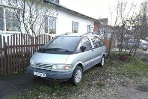 Автомобиль Toyota Previa, отличное состояние, 1994 года выпуска, цена 260 000 руб., Кольчугино