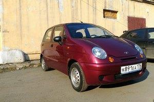 Подержанный автомобиль Daewoo Matiz, хорошее состояние, 2007 года выпуска, цена 110 000 руб., Челябинск