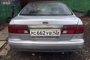 Автомобиль Nissan Sunny, среднее состояние, 1998 года выпуска, цена 80 000 руб., Кемерово
