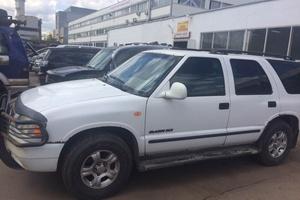 Автомобиль Chevrolet Blazer, хорошее состояние, 1998 года выпуска, цена 160 000 руб., Московская область