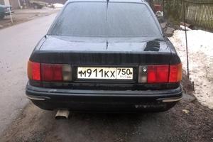 Подержанный автомобиль Audi 100, хорошее состояние, 1991 года выпуска, цена 95 000 руб., Сергиев Посад