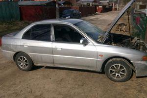 Автомобиль Mitsubishi Mirage, хорошее состояние, 1995 года выпуска, цена 100 000 руб., Москва и область