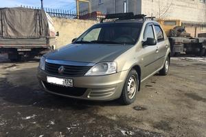Подержанный автомобиль Renault Logan, хорошее состояние, 2010 года выпуска, цена 310 000 руб., Челябинская область
