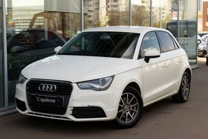 Подержанный автомобиль Audi A1, отличное состояние, 2012 года выпуска, цена 649 000 руб., Москва