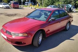 Автомобиль Mitsubishi Galant, среднее состояние, 2002 года выпуска, цена 170 000 руб., Одинцово