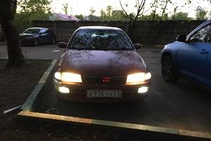 Автомобиль Toyota Carina, хорошее состояние, 1993 года выпуска, цена 80 000 руб., Москва