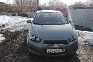Подержанный автомобиль Chevrolet Aveo, отличное состояние, 2013 года выпуска, цена 480 000 руб., Челябинск