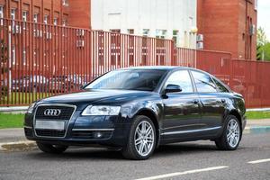 Подержанный автомобиль Audi A6, отличное состояние, 2007 года выпуска, цена 578 000 руб., Москва
