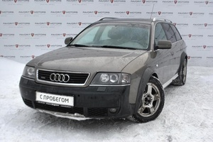 Авто Audi Allroad, 2002 года выпуска, цена 240 000 руб., Москва