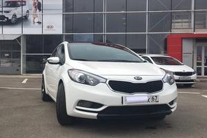 Автомобиль Kia Cerato, отличное состояние, 2014 года выпуска, цена 780 000 руб., Смоленск