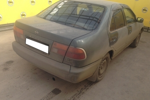 Авто Nissan Sunny, 1997 года выпуска, цена 100 000 руб., Самара