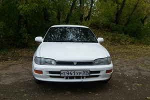 Автомобиль Toyota Sprinter, хорошее состояние, 1992 года выпуска, цена 100 000 руб., Пермь