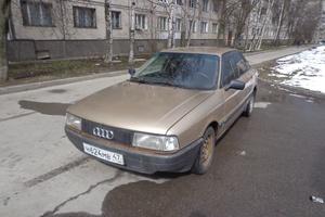 Автомобиль Audi 80, хорошее состояние, 1987 года выпуска, цена 72 000 руб., Санкт-Петербург