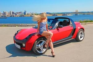 Автомобиль Smart Roadster, отличное состояние, 2003 года выпуска, цена 359 000 руб., Казань